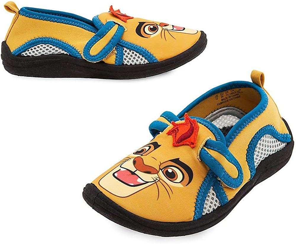 Disney Store Boys Kion - Lion Guard - Swim Shoes, Yellow/Blue