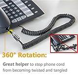 Telephone Handset Cord Detangler,Uvital 1 Pack