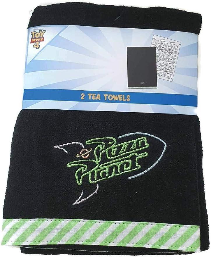 Primark Disney Toy Story - Juego de 4 paños de Cocina para Pizza (3 Unidades): Amazon.es: Hogar