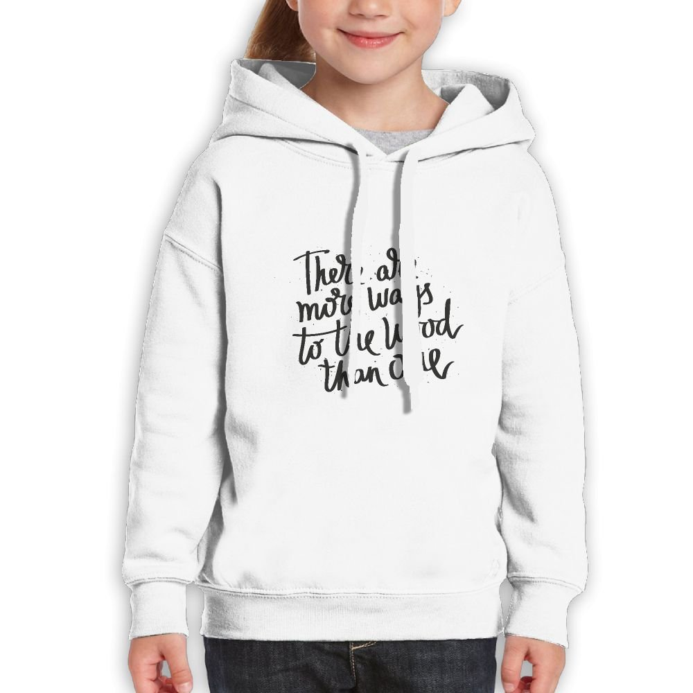 DTMN7 Ways To The Wood Than One Cool Printed Cotton Sweatshirt For Youth Spring Autumn Winter