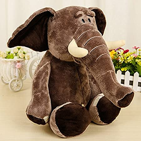 Simulation of elephant doll plush toys children toys , 3 YCX WANJU