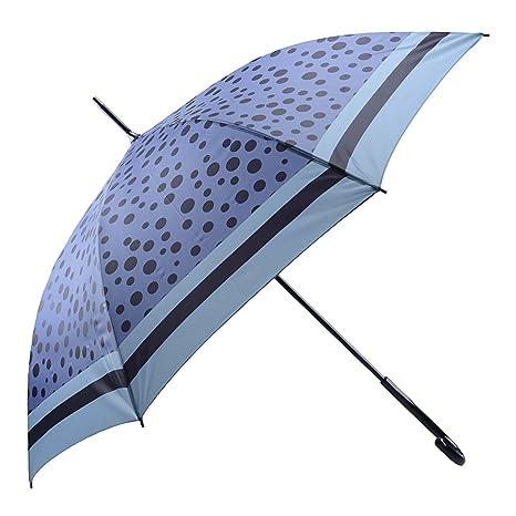 Paraguas largo automático Talla: U Color AZUL