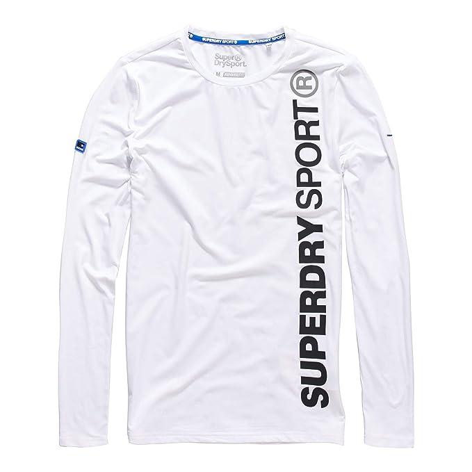 Superdry Camiseta de Manga Larga - para Hombre: Amazon.es: Ropa y ...