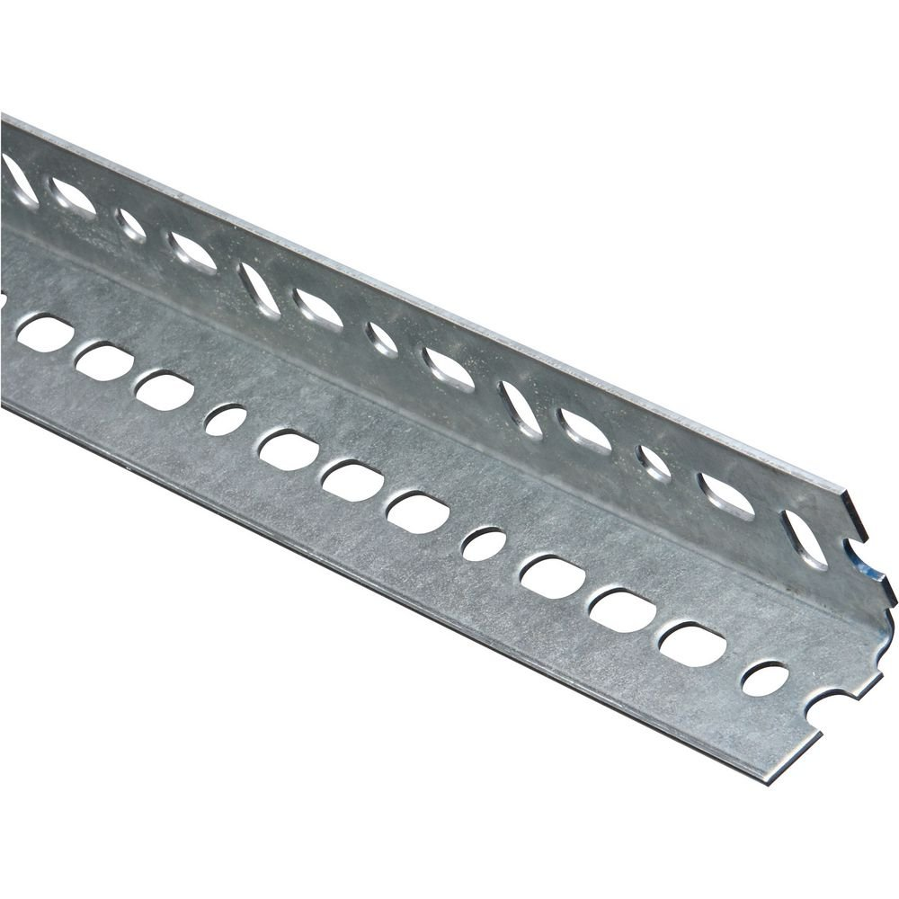National Hardware N341-115 4020BC Slotted Angle in Galvanized, 1-1/2'' x 96'' by National Hardware (Image #1)
