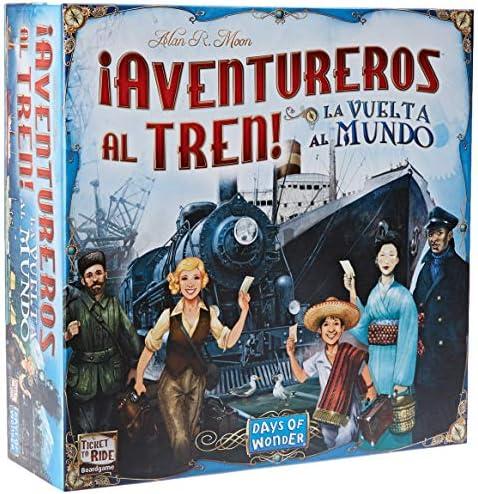 Days of Wonder-¡ Aventureros Al Tren-La Vuelta Al Mundo-Español ...