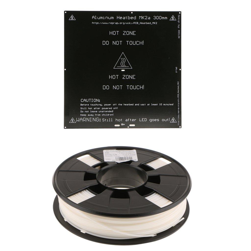 Gazechimp Cama de Aluminio con Calefacción Filamento de Impresora ...