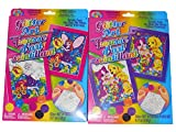 Lisa Frank Glitter Art Paint by Number Set