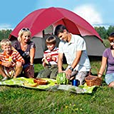 Heize-best-price-Red-Portable-6-Person-Family-Tent-Easy-Set-up-Rainproof-WBag-Hiking-wBag-Waterproof-Camping-Tent-Travel-Outdoor-Backpack-Family-Beach-Tent-Portable-Lightweight-US-Stock