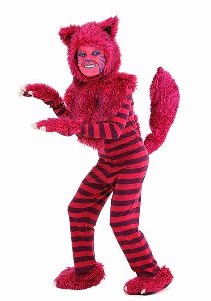 Hombres/Niños Onesie pijamas de pijama de rayas de gato mono disfraz Halloween Cosplay Disfraz