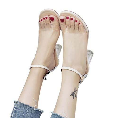d43d2ca324b Fashion Women Transparent Sandals