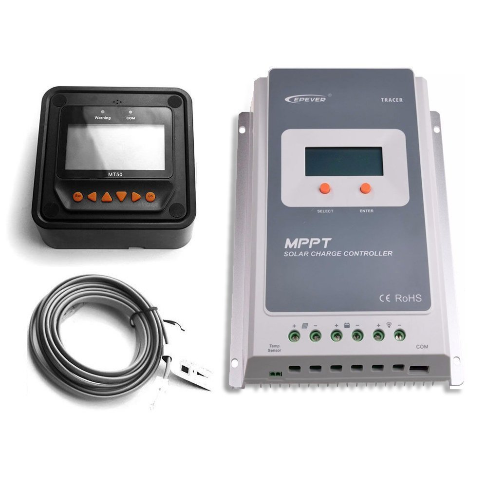 61 4JyeQZKL._SL1000_ amazon com epever 40a mppt solar charge controller tracer a  at readyjetset.co