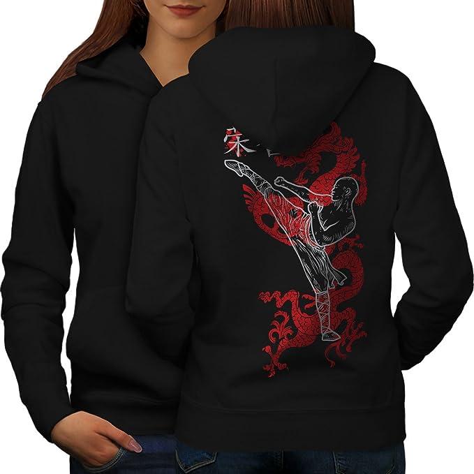 Scary Casual Jumper wellcoda Girl Mystic Being Mens Sweatshirt