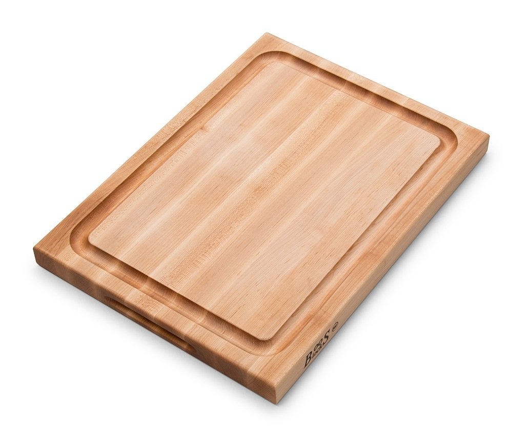 John Boos Maple Wood Edge Grain Reversible Cutting Board with Juice Groove, 20 Inches x 15 Inches x 1.5 Inches by John Boos (Image #4)