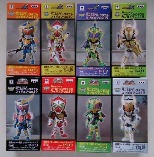 仮面ライダーシリーズ ワールドコレクタブルフィギュア Vol.19 全8種 B00IEPZCTM