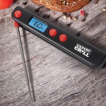 Amazon.com : Expert Grill Pocket Grilling Probe Digital Thermometer Meat BBQ Berbecue Tool WLM8 XG17-096-035-85 : Garden & Outdoor