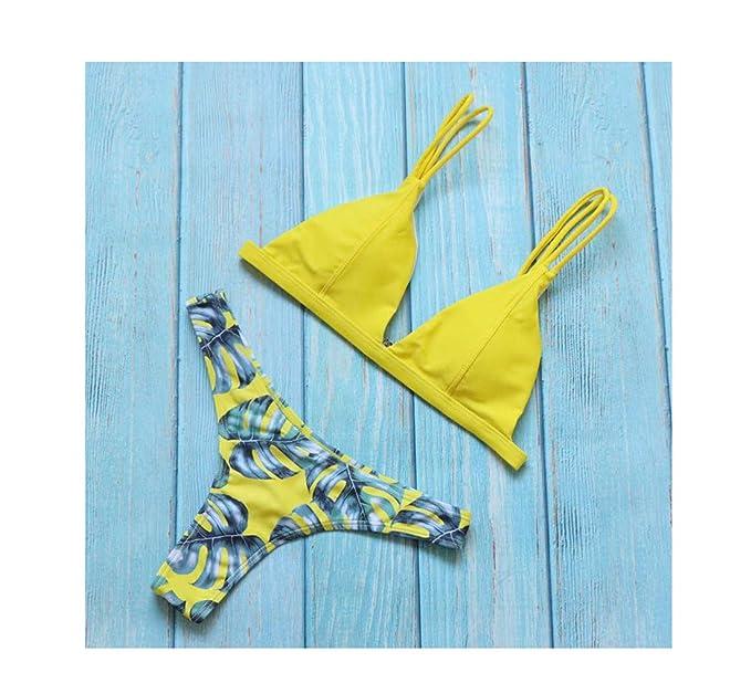 Amazon.com: Hanhequhui Bikini brasileño sexy tanga de ...