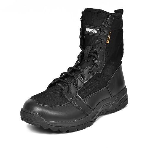 1856ae62c8b Botas Militares de los Hombres ultraligeros, Botas Tácticas de Combate  Transpirables, Zapatos de Tobillo