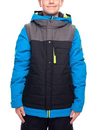 686 Boys Waterproof Woven Jacket Bluebird Colorblock X Small