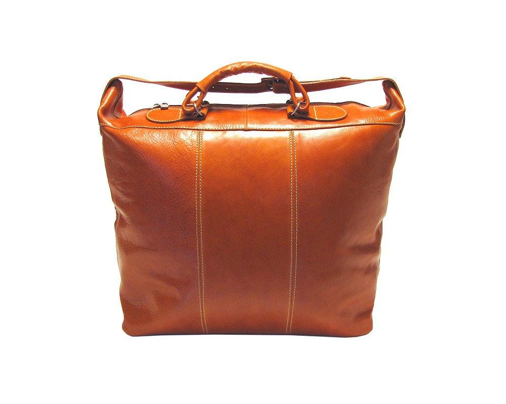 Floto Luggage Piana Leather Tote, Vecchio Brown, Large