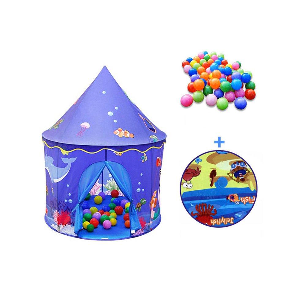 QAR Innen-Prinzessinmädchen IKEA-Marineballballspielhaus-Schloss der Kinder Zelt der Kinder Zelt