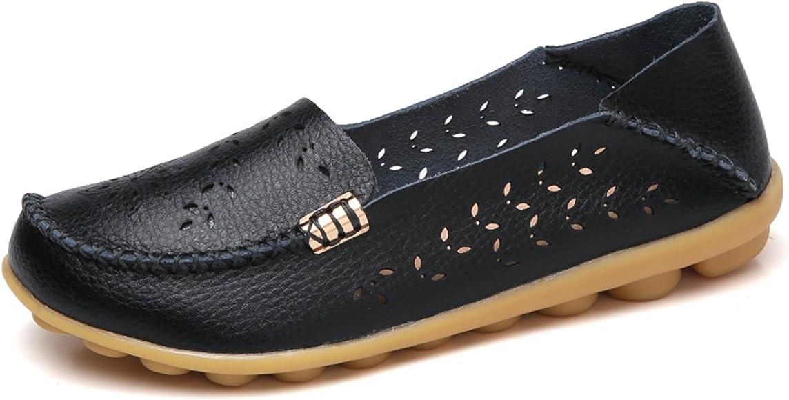 Natural Breathable Walking Flat Loafer
