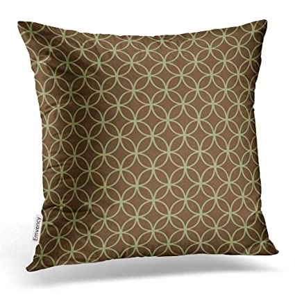 Amazon Com Emvency Throw Pillow Covers Modern Sage Green On