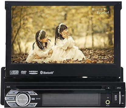 2016 Nuevo coche DVD GPS 1DIN Car Stereo FM AM RDS Radio Coche GPS ...