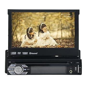 2016 Nuevo coche DVD GPS 1DIN Car Stereo FM AM RDS Radio Coche GPS Bluetooth USB