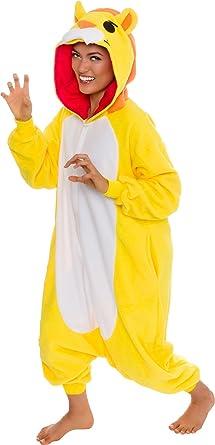 Silver Lilly Unisex Adult Pajamas - Plush One Piece Cosplay Giraffe Animal  Costume c8029579d