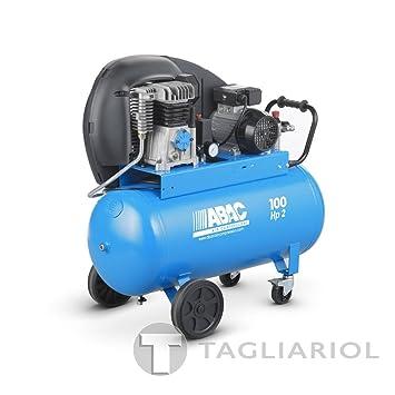 Abac Pro a29b 100cm2Compresor profesional-100L Aire Comprimido Motor 2HP: Amazon.es: Bricolaje y herramientas
