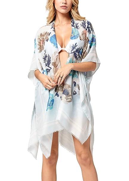 Glorious Womens Cover Up Beach Chiffon Summer Beachwear Swimwear Outwear Fashion Cardigan Women's Clothing