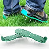 W Lawn Aerator Shoes/Lawn Breather/Heavy Duty Spike Lawn Aerator Sandals/Garden Lawn Aerator Shoes Bring New Life To Lawns
