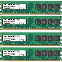 4GB KIT (4 x 1GB) For Asus PTG Series PTGD2-LA (Grouper) PTGD2-LA (Piranha) PTGD2-VX PTGV-LM (Non-ECC). DIMM DDR2 NON-ECC PC2-4200 533MHz RAM Memory. Genuine A-Tech Brand.
