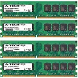 8GB KIT (4 x 2GB) For Dell Optiplex Series 740 (Desktop and Mini-Tower) 745 (Desktop MiniTower Small Form Factor) GX745. DIMM DDR2 NON-ECC PC2-4200 533MHz RAM Memory. Genuine A-Tech Brand.