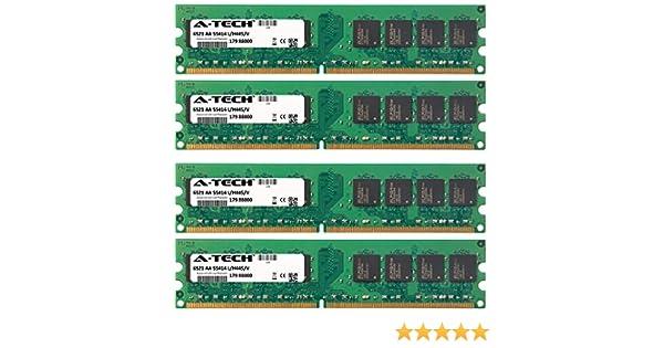 8400 MCE C521 A-Tech 2GB KIT 4X 512MB for Dell Dimension 4700 MCE DXC061 400Mhz Bus 8100 8200 8250 Media Center DMC521 Media Center XPS Gen4 DIMM DDR2 NonECC PC2-6400 800MHz RAM Memory 9200C