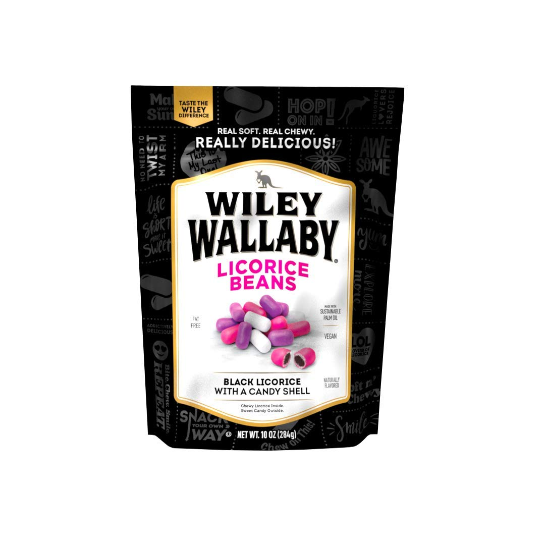 Wiley Wallaby Outback Beans, Black, 10 Ounces