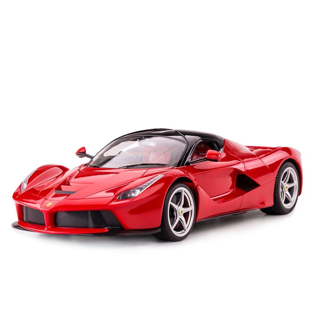 RASTAR RC Car   1/14 Scale Ferrari LaFerrari Radio Remote Control R/C Toy Car Model Vehicle for Boys Kids, Red, 13.3 x 5.9 x 3.3 inch by RASTAR (Image #9)