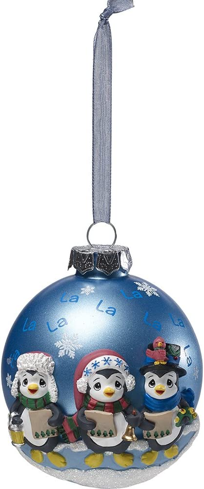 Rustic Wood Look Snowman Family Carolers Light Up Christmas Decor Resin Ornament