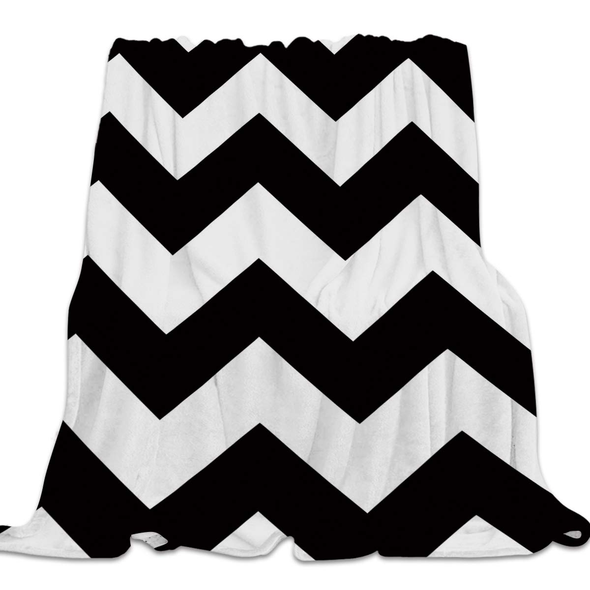 Ripple4yag8431 49x59inch=125x150cm 49x59 Inch Flannel Fleece Bed Blanket Soft ThrowBlankets for Girls Boys,Fuck it Just get Naked Black and White,Lightweight Warm Kids Blankets for Bedroom Living Room Sofa Couch Home Decor