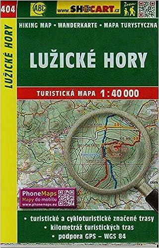 Wanderkarte Tschechien Luzicke Hory 1 40 000 Turisticke Mapy