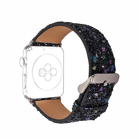 bebé los recién llegados venta limitada Apple Watch Correa 38mm,Correas Apple Watch 38mm Rosa Schleife®Correas  iWatch Piel Pulsera Apple Watch Series 3 Series 2 Banda Cuero Leather Sport  ...