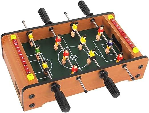 Foosball Tables Mesa de futbolín de Escritorio para Jugar al ...