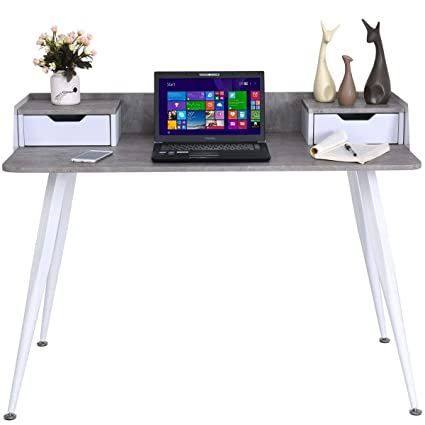 Tangkula Escritorio para ordenador, escritorio, hogar, oficina ...