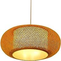 MJW Creativa Bambú Arte Rota Bambú Pequeña Linterna