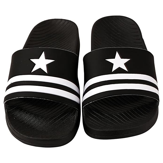 6fd3688869461c Falcon18 Men s Rubber Slippers  Buy Online at Low Prices in India -  Amazon.in