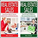 Real Estate Sales: 2 Manuscripts in 1: The Beginner's Guide + Tips and Tricks for Realtors to have Successful Real Estate Sales Audiobook by Alex Johnson Narrated by Pete Beretta