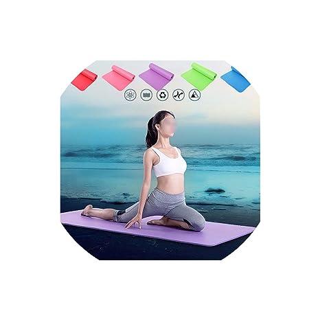 Amazon.com : Mat Thickess Non-Slip Yoga Mat Sport Gym Soft ...