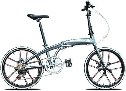 Dapang Bicicleta Plegable, Bicicleta de cercanías de Citybike con ...