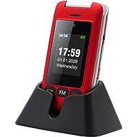 artfone Flip Teléfono Móvil para Personas Mayores con Teclas Grandes con Pantalla de 2.4 Pulgadas   Fácil de Usar para…
