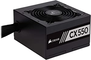Corsair CX Series 550 Watt 80 Plus Bronze Certified Non-Modular Power Supply (CP-9020121-NA)